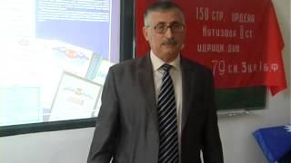 тематический открытый урок в школе №3 г. Дербента