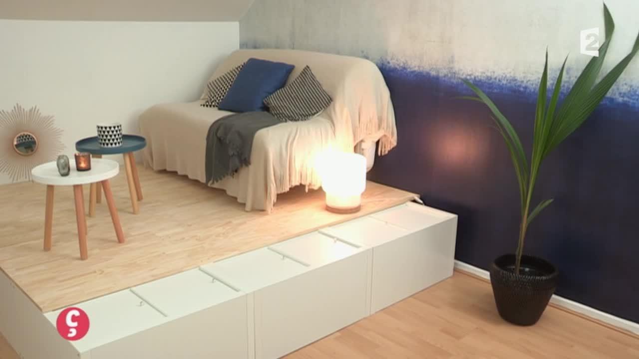 DÉCO] Réagencer l\'espace d\'une chambre d\'amis #CCVB - YouTube