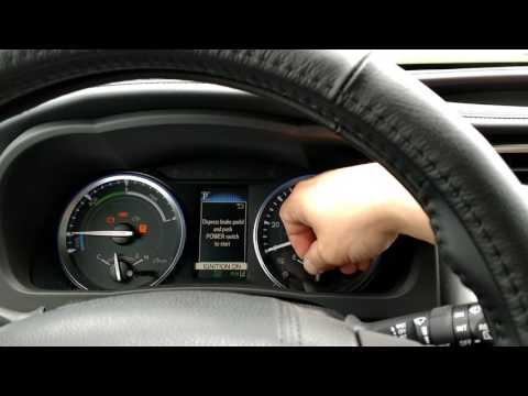 How to reset a maintenance light on a 2017 Toyota Highlander hybrid