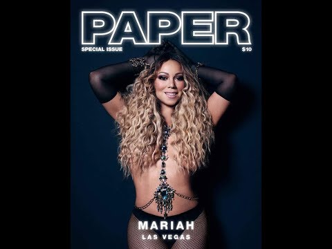 Mariah SLAYING Paper Magazine Pictures!