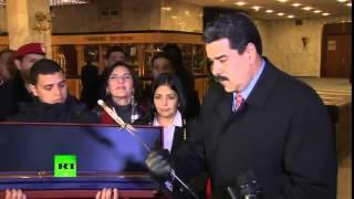 Владимир Путин подарил Николасу Мадуро копию клинка Симона Боливара 1