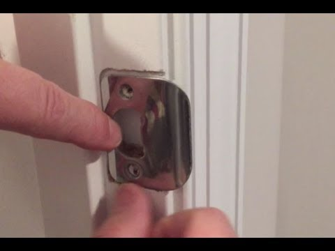 Fix To A Door That Won't Latch. Easy!