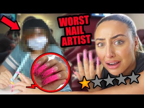 GOING TO THE WORST REVIEWED NAIL SALON IN DUBAI!! 😡 (1 STAR) thumbnail