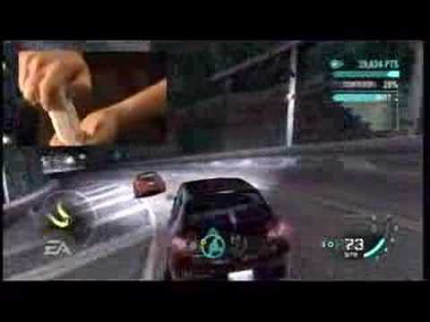 need for speed carbon nintendo wii trailer youtube. Black Bedroom Furniture Sets. Home Design Ideas