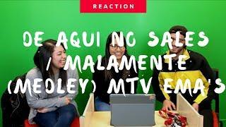 Rosalía | De Aqui No Sales/Malamente MTV EMA Performance (Reaction/Reacción) | The Millennial Chisme