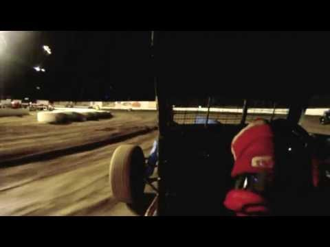 Santa Maria Speedway CDCRA Dwarf Car Main 5/4/13 In-Car