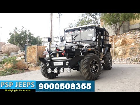 Psp Jeeps Hyderabad Modified Jeeps For Sale 9000508355