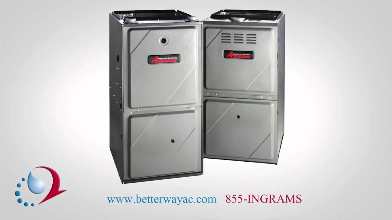 Amana Gas Furnace Overview - YouTube