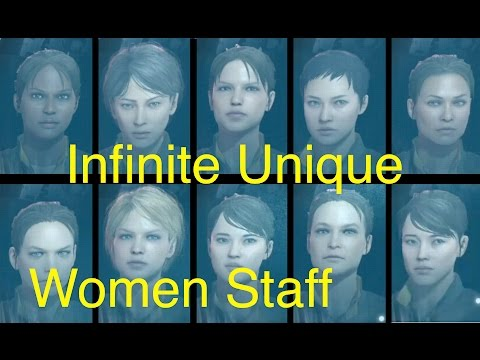 MGSV: Phantom Pain - Unlimited Unique Female Staff (Metal Gear Solid 5)