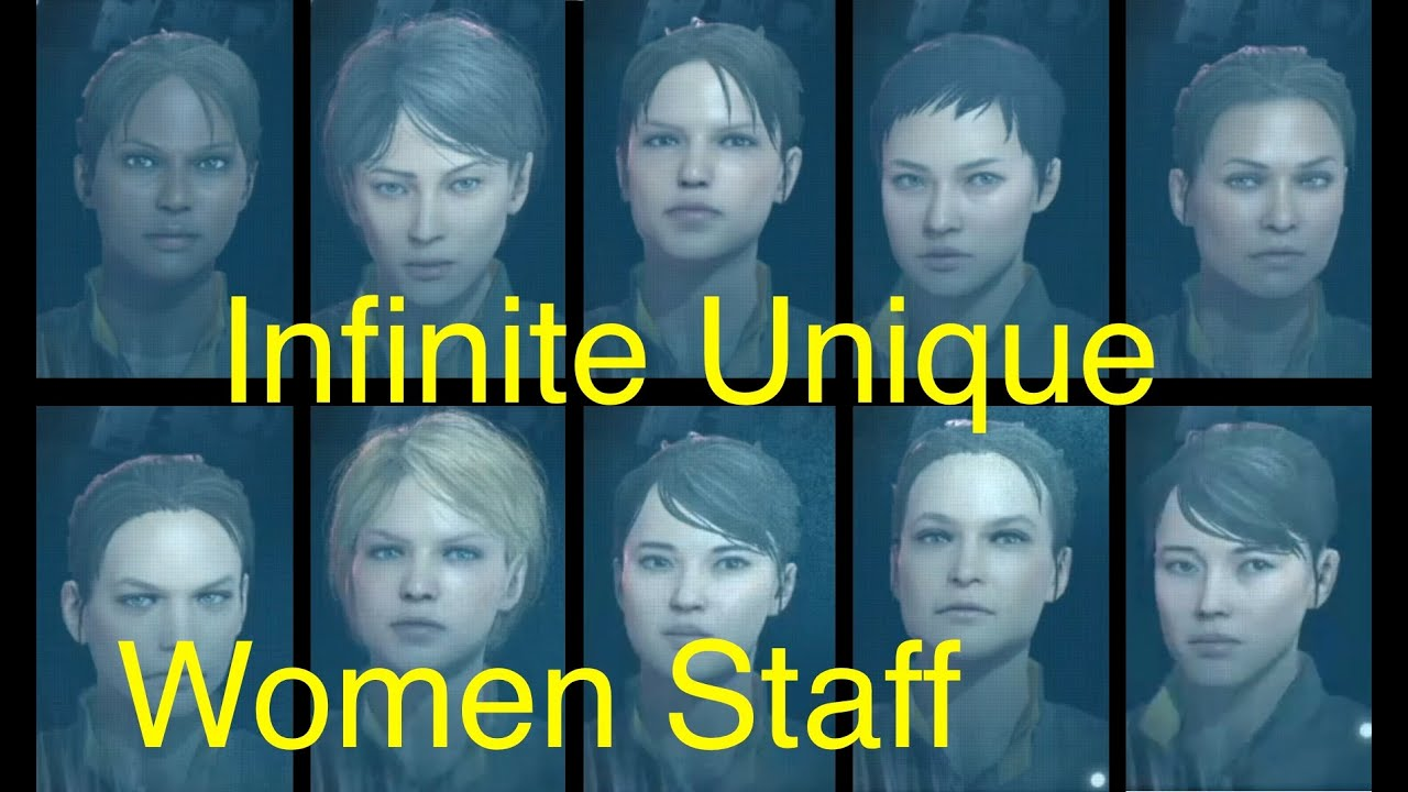 MGSV: Phantom Pain - Unlimited Unique Female Staff (Metal Gear Solid 5)