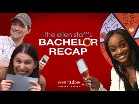'The Bachelorette' Rachel Lindsay Is in Our Cubicle!