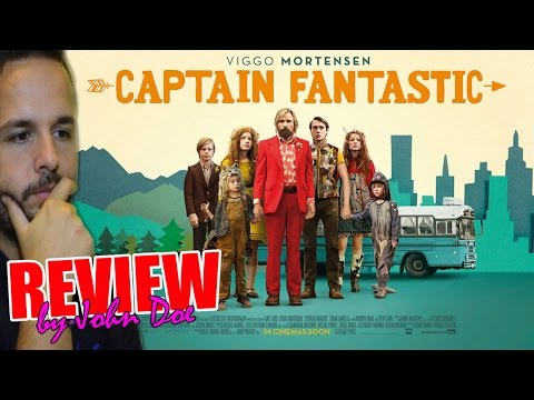 Captain Fantastic - CRÍTICA - REVIEW - HD - John Doe - Viggo Mortensen - Matt Ross