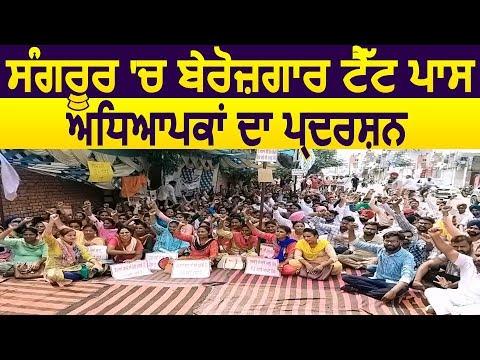 Sangrur में बेरोजगार TET पास Teachers ने किया सरकार के खिलाफ Protest