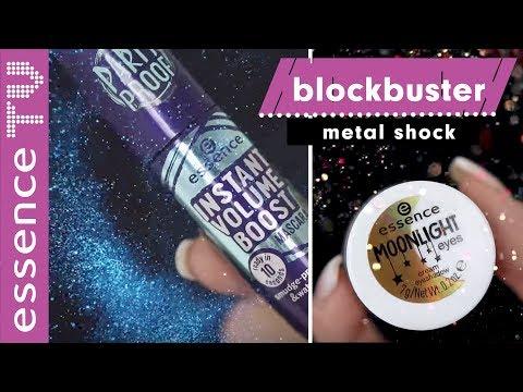 NEUE essence metal produkte im test - blockbuster make up tutorial deutsch l essenceTV