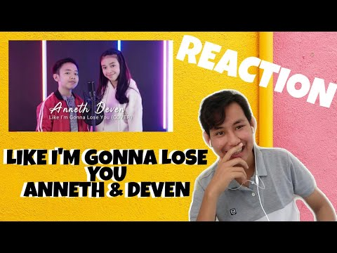 Like I'm Gonna Lose You - Meghan Trainor ft. John Legend || Cover by Anneth & Deven | Reaction