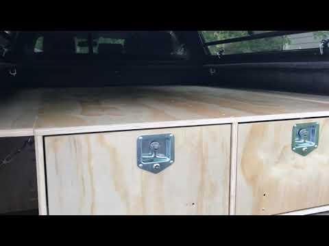 Truck Bed Storage system DIY.