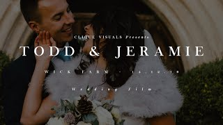 Todd and Jeramie // Wick Farm // 14.12.19 // Wedding Film