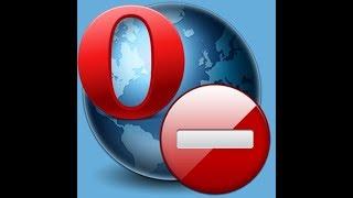 Как отключить рекламу в Опере / Блокируем рекламу в браузере OPERA