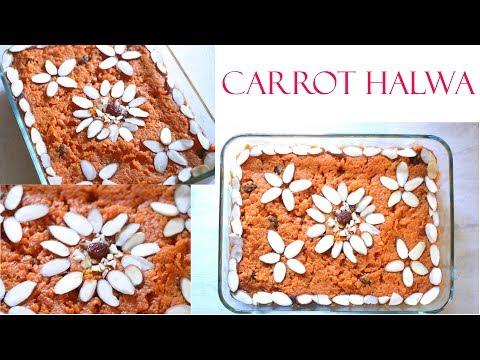 Instant Pot Carrot Halwa || Easy Gajar Halwa || Indian Carrot Dessert