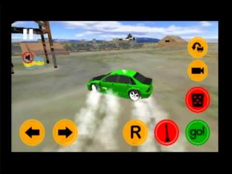 Driftkhana Android App Gameplay Video