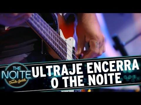 The Noite (21/10/15) - Ultraje Encerra O Programa Com Musical