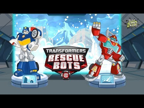 Transformers Rescue Bots: Disaster Dash Hero Run #152 | HEATWAVE & CHASE Avalanches Mission!