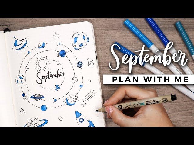 PLAN WITH ME | September 2018 Bullet Journal Setup