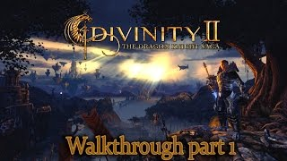 Divinity 2: The Dragon Knight Saga - walkthrough part 1 - 1080p 60fps - No commentary