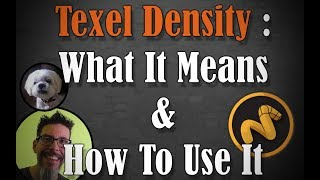 Texel Density : What It Means & How To Use It