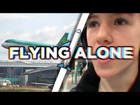 FLYING ALONE AS A KID...