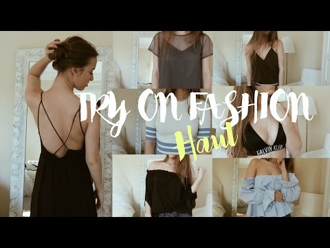 Try on Fashion Haul Spring 2017//Hannah