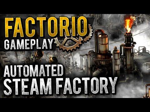 Factorio Gameplay - STEAM ENGINE SET-UP (Beginner)   Let's Play Factorio