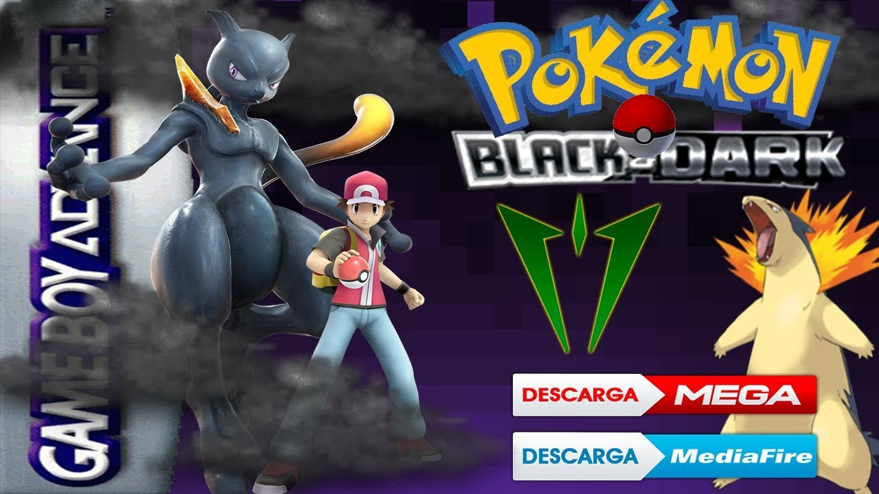 pokemon black dark gba guia