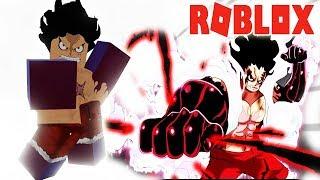 ROBLOX-Power GEAR 4 SNAKEMAN OF LUFFY AFTER TIMESKIP-Anime Battle Arena