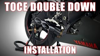 How to install Toce Double Down Exhaust on a 2006-2016 Yamaha YZF R6 by TST Industries