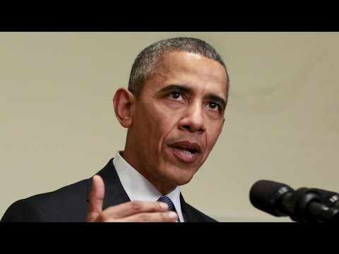 President Obama makes a statement on Islamic State