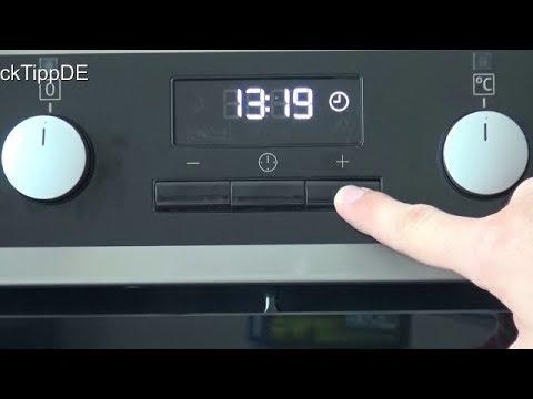 Amica Kühlschrank Einstellen : Aeg backofen uhr einstellen herd uhrzeit ändern elektroherd