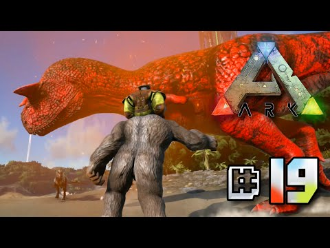 Close Encounter with an Alpha Carno - Ark Survival Evolved || Ep 20