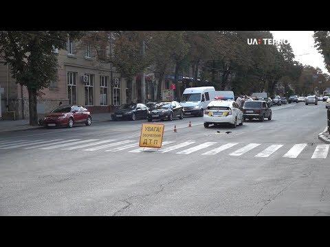 UA: Тернопіль: 64-річну жінку збили на пішохідному переході на вулиці Руській у Тернополі