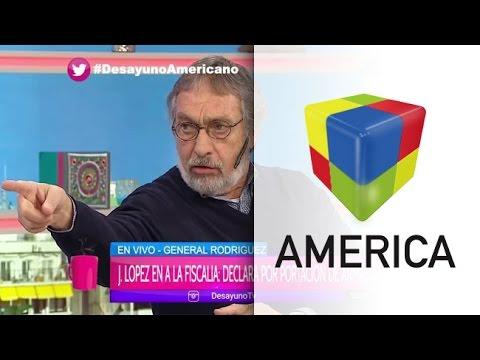 Luis Brandoni y Mauro Viale discutieron fuerte por la detención de José López en Desayuno americano.