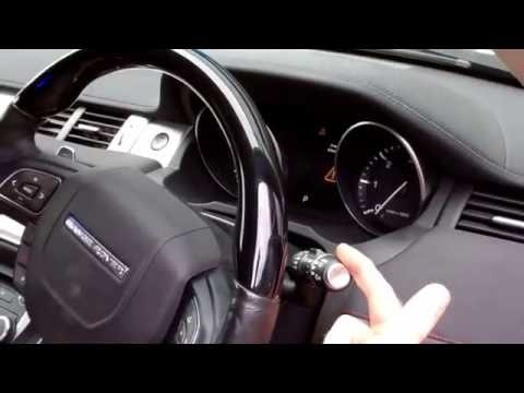 How to replace the wiper blades (front&rear) on Range Rover Evoque