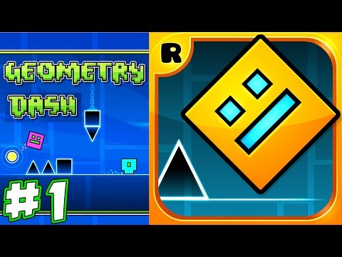Geometry Dash epic failures!!! Ronald had really hard time passing levels !!!  | KID GAMING