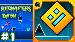 Geometry Dash epic failures!!! Ronald had really hard time passing levels !!!    KID GAMING
