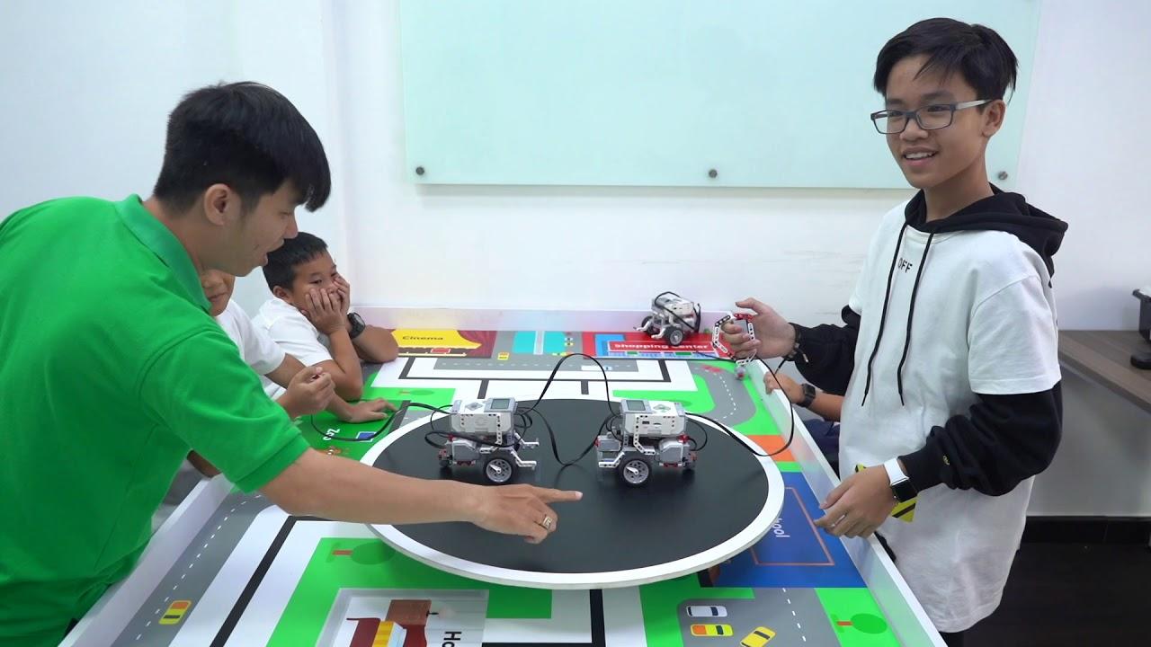 LỚP HỌC LEGO ROBOT MINDSTORMS EV3 TẠI CLB BRICK LAB