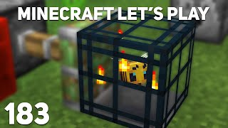 Minecraft Let's Play: Epizoda 183 - VČELÍ SPAWNER V SURVIVALU!