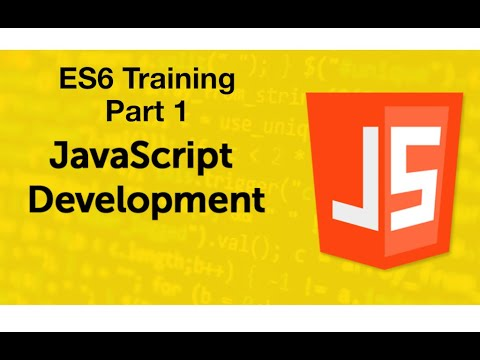 ES6 Tutorial - Part 1 | Live Training | JavaScript Tutorials thumbnail