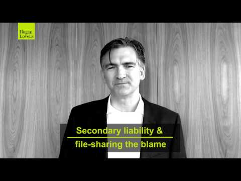 Secondary liability & file-sharing the blame