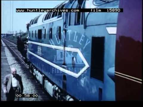 Deltic Deisel Locomotive -- Film 15890