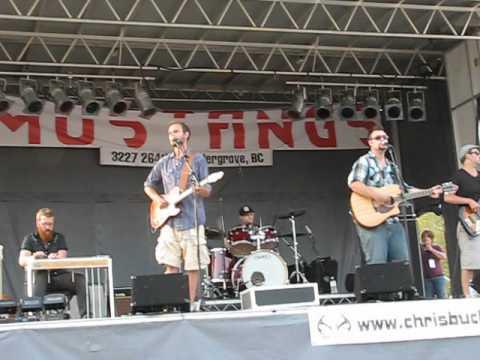 Chris Buck Band, Rockin River Music Fest 2012, Mission, BC