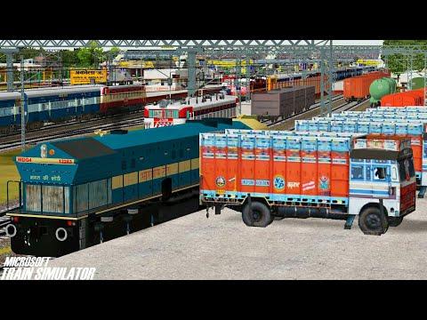 Busy Bhusawal - Nagpur Line || BOXNHL Rake Rescue || BGKT WDG4 || MSTS Open Rails Journey Part 1